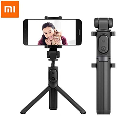 Original Xiaomi Selfie Stick, Faltbarer Stativ Selfie Stick Bluetooth - Schwarz