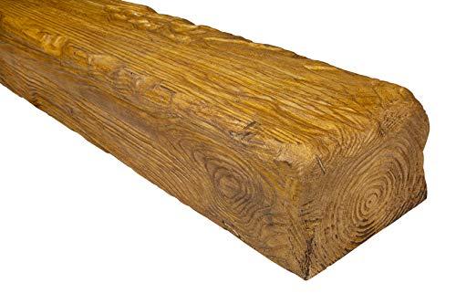 2 metros | Viga | Poliuretano | Aspecto de madera | Deco Wood | 190 x 130 mm | EQ005.H