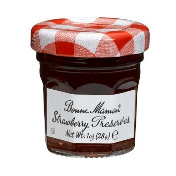 Bonne Maman Strawberry Preserve Mini Jars - 1 Oz X 30 Pcs Kosher