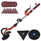 Drywall Sander - 6.5A Dual-Head Automatic Vacuum System, Variable Speed 1200-2500 RPM/12 Sanding...