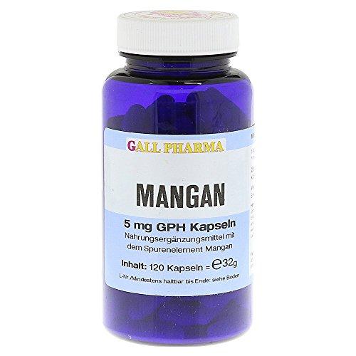 Gall Pharma Mangan 5 mg GPH Kapseln 120 Stück
