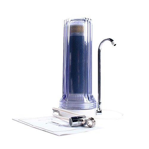 Anchor AF-3300-C 3 Stage Countertop Water Filter, Clear