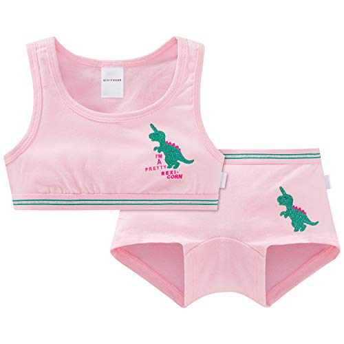 Schiesser Mädchen Wäscheset Unterwäsche-Set, Mehrfarbig (Sortiert 1 901), (Herstellergröße: 104) (2er Pack)