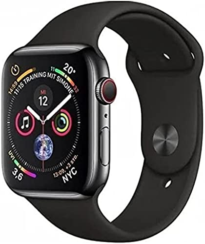 T55 Smart Watch Series 5 with Magnetic Charging Calling Function 2 Straps Black Edition