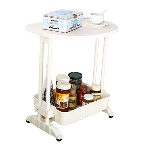 Lw Shelf Estantería para sala de estar, color blanco, estantes móviles, estantes de almacenamiento para dormitorio, artículos para el hogar, aperitivos