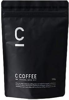C COFFEE シーコーヒー 【 チャコール mctオイル パウダー オーガニック 炭 サプリ の代わりに サポート 置き換え 食品 】 (ブラジル産 コーヒー豆 100%)