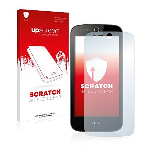 upscreen Schutzfolie kompatibel mit Acer Liquid M320 – Kristallklar, Kratzschutz, Anti-Fingerprint