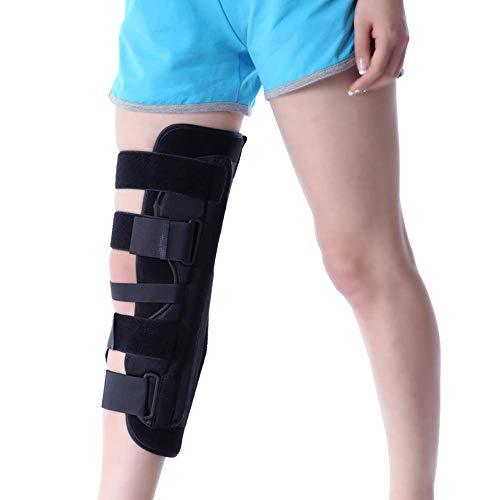 LKJCZ Protectores de Rodilla Protectores de Rodilla Ortesis ortopédica Ajustable Fijación de la Rodilla Fijación del menisco,S