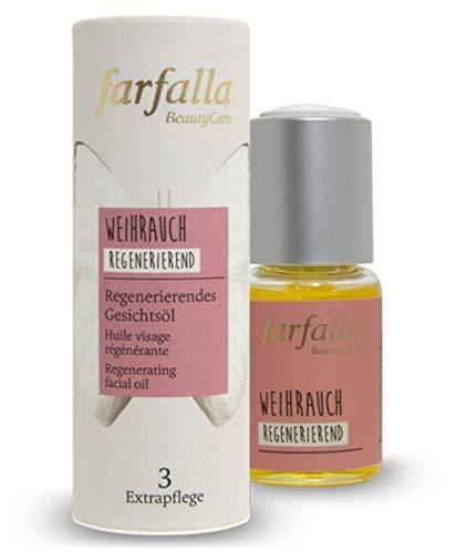 farfalla Weihrauch, regenerierendes Gesichtsöl, regenerierend, 20 ml