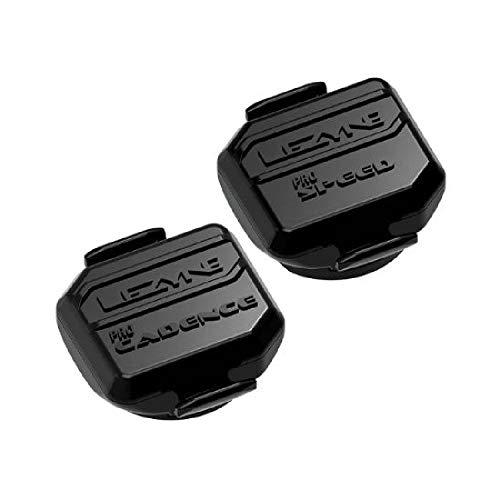 【日本正規品】 LEZYNE(レザイン)自転車 スピードセンサー レザインプロ ケイデンスセンサー スピードセンサー ペアセット PRO SENSOR PAIR 超小型 マグネット不要 Bluetoothブラック(11g×2) 2年保証 