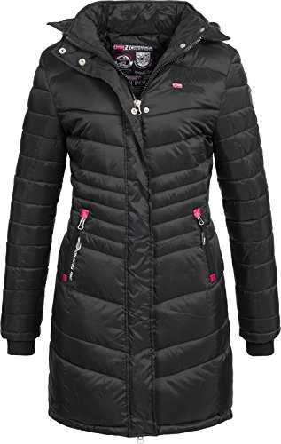 Geographical Norway Damen Steppmantel Antalia/Carless black L
