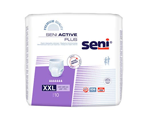Seni Active Plus - Gr. XX-Large (140-190 cm)
