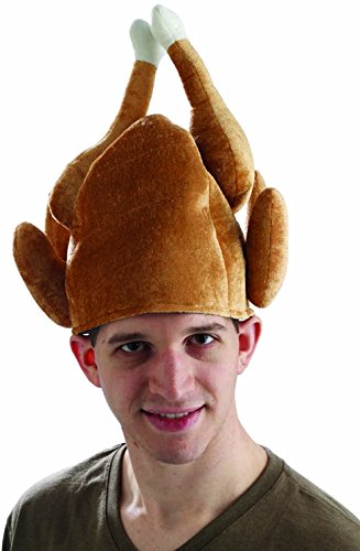 Forum Novelties mens Turkey Hat Costume, Brown, One Size US