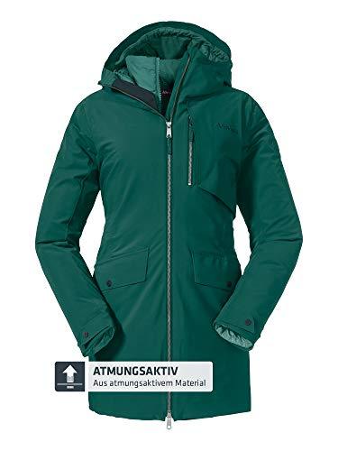 Schöffel Parka para mujer 3 en 1, chaqueta impermeable Moskau L,...
