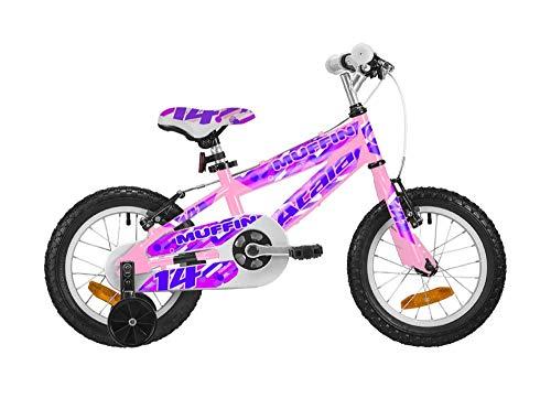 Atala Bicicletta da Bambino Muffin 14', Colore Rosa-Fucsia