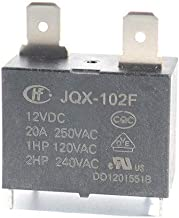 JQX-102F 12VDC Automotive Relay Minitype Durable Relay 3PCS/ LOT