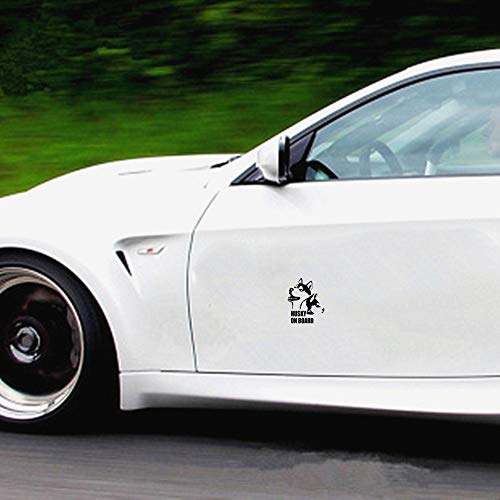 De Auto Aufkleber Husky On Board Auto Auto Aufkleber Aufkleber Autozubehör Autoaufkleber