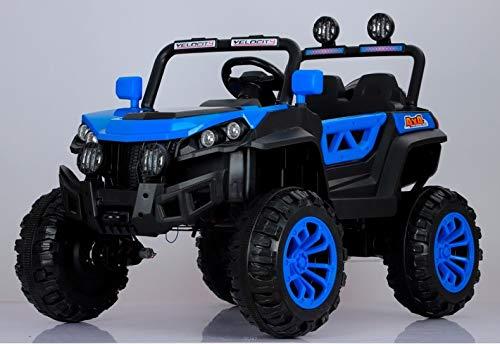 Indalchess Buggy Rodeo 12v 4x4 Coche eléctrico Infantil, Azul, Mando RC - ATRODEOBLUE