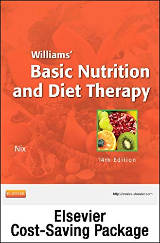 Compare Textbook Prices for Nutrition Concepts Online for Williams' Basic Nutrition and Diet Therapy Access Code and Textbook Package 14 Edition ISBN 9780323112123 by Nix McIntosh MS  RD  CD, Staci