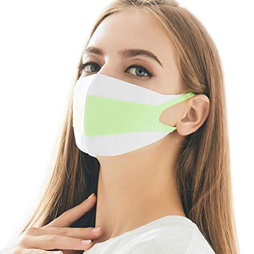 LOOKA | Protective Fashion Air Mask | Washable and Reusable | EXTREME White (Medium)