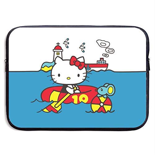Hello Kitty Pool Time - Custodia in neoprene per MacBook Pro Air 13-15 pollici