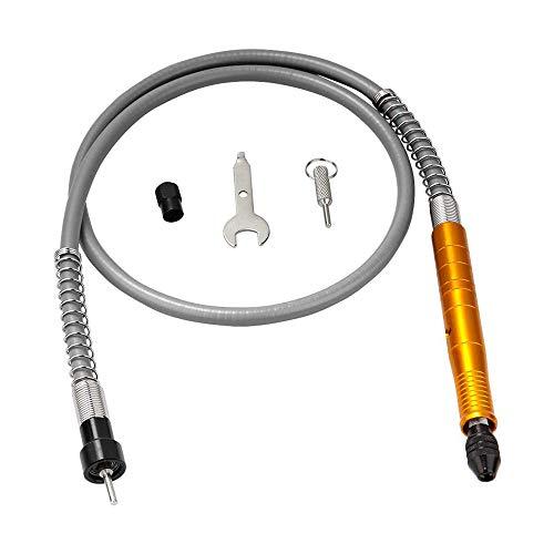 Tubo Flessibile Per Trapano Elettrico Mandrino Per Cavo Prolunga Flessibile Da 3 Mm Per Strumento Smerigliatrice Rotante Compatibile Con Chiave (golden)