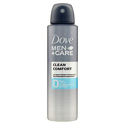 Dove Desodorante 0% Men Clean Comfort - 150 ml