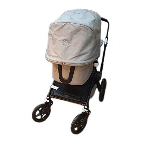 Cubre cesta impermeable para silla Rosy Fuentes en negro (Exclusivo para Bugaboo Fox)