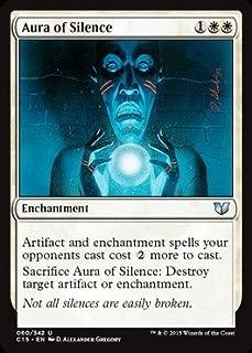 Magic: the Gathering - Aura of Silence (060/342) - Commander 2015