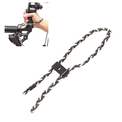 Bow Honda De La Correa, Nylon Archery Bow Sling, El Compuesto Ajustable De Tiro con Arco De Muñeca Sling, Durable Friendly Tela Suave Cómodo, para El Disparo De La Caza