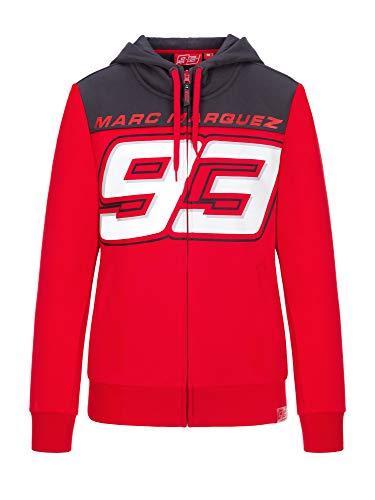 Marc Marquez 2020 93 - Sudadera con capucha para mujer y niñas MM93 MotoGP oficial