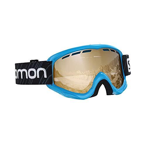 Salomon, Juke Access, Kinder-Skibrille (6-12 Jahre), Blau/Universal Tonic Orange, L40848200