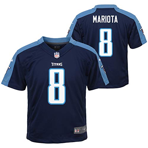 Marcus Mariota Tennessee Titans Nike Boys Navy Blue Alt Game Jersey