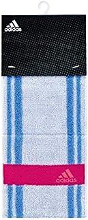 日繊商工 adidas クールタオル 熱中症対策 接触冷感 リンネ クールアクティブロングタオル ブルー AD-1226_B