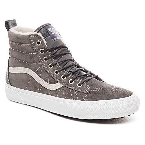 Vans Sk8-Hi MTE - Zapatillas deportivas, gris y blanco., 36 EU