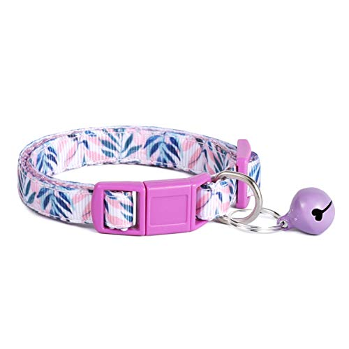 waaag Pet Supplies, (Lavender Breeze) Cat Collar, Dog Collar, Cat Leash, Dog Leash, Cat Harness, Dog Harness, Small Dog Collar, Medium Dog Collar, Large Dog Collar (Pet Collar, XS)