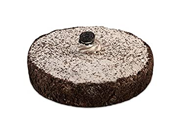 "Our Specialty 8"" Single Layer Cookies N Cream Cake, 18.5 oz"