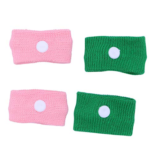 DOITOOL 2 Pairs Motion Sickness Bands Practical Sea Bands Car Bands Nausea Wristband Nausea Relief Acupressure Wristbands for Travel (Random Color)