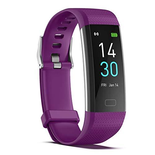 Pulsera Inteligente S5, rastreador de Actividad física, Reloj con Monitor de frecuencia cardíaca, Monitor de sueño Resistente al Agua, Contador de Pasos para Mujeres y Hombres
