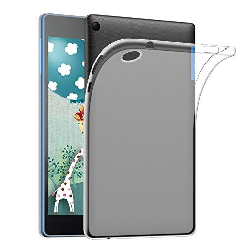 WiTa-Store TPU Silicona Cover para Lenovo TAB37Essential tb3–710transpartent Mate móvil
