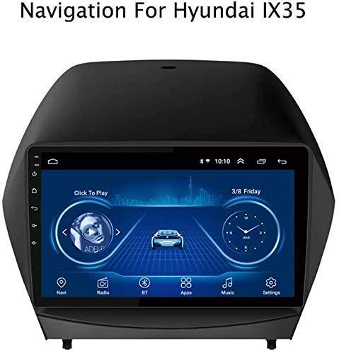 YLCCC Doppio DIN di Navigazione GPS per Serie Hyundai Tucson IX35 2010-2013 Schermo Autoradio Touch HD Dab Radio RDS BT SD USB WiFi