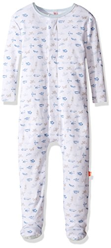 Magnificent Baby baby boys Footie, Airplanes, 0 - 3 Months US