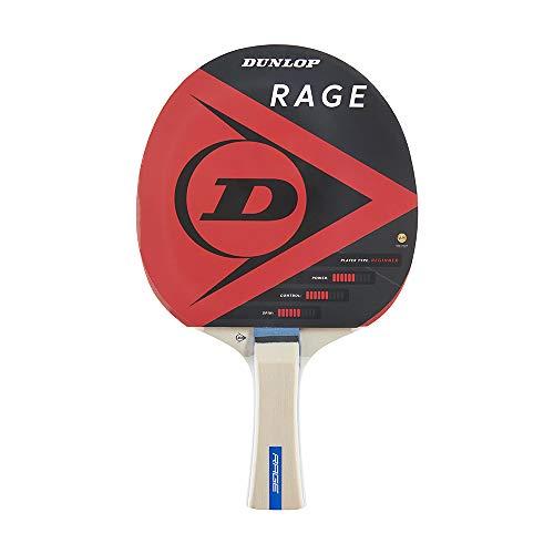 Dunlop Rage - Raqueta de Ping Pong, Ideal para Principiantes