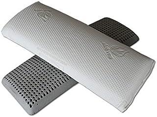 Ventadecolchones - Almohada Viscoelástica de Carbono Perforada (140 cm)