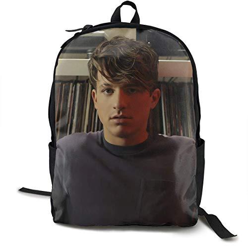 Mochila Mochila de Viaje Charlie Puth Backpack Campus School Bag Casual Backpack Gym Travel Hiking Canvas Backpack