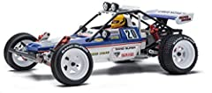 Turbo Scorpion updated to meet the demands of the modern off-road racing scene. Kit includes pre-assembled gearbox. Features same racy-style mini bumper as the original. Decals included in kit are die-cut. Stretch for easy application and beautiful b...