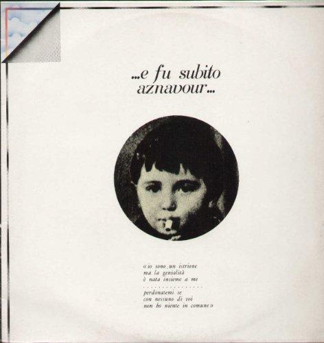 ORL8440 LP E Fu Subito Aznavour VINYL