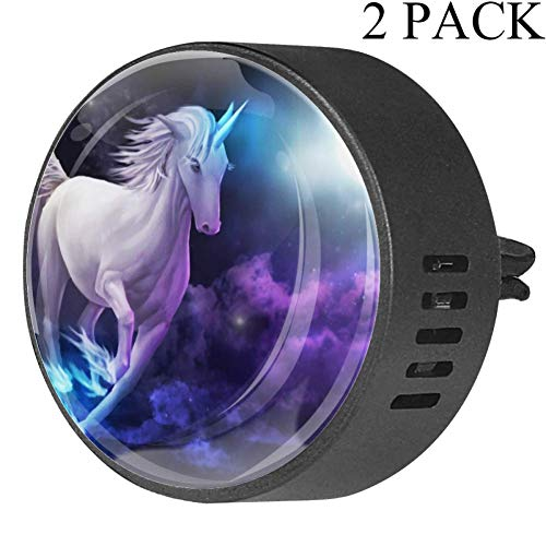Unicornio Galloping Sky Full Moon Ambientador Coche