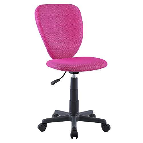 CARO-Möbel Kinderdrehstuhl Discovery Schreibtischstuhl Drehstuhl in rosa, höhenverstellbar