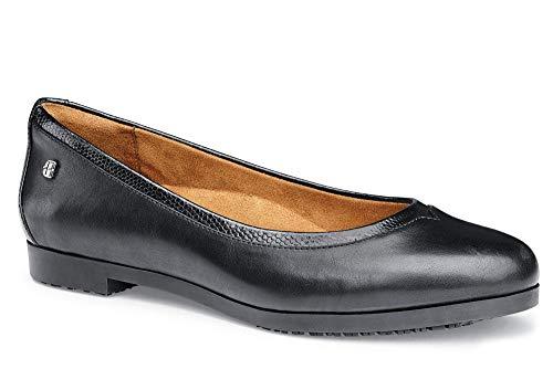 Shoes for Crews 57160-41/7 REESE Ballerina-Schuh für Damen, Größe 41 EU, Schwarz
